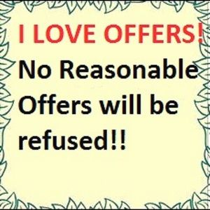 Please send offers my way!